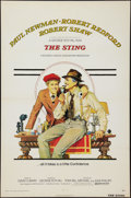 "Movie Posters:Crime, The Sting (Universal, 1973). One Sheet (27"" X 41"") Flat Folded.Crime.. ..."