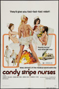 "Movie Posters:Sexploitation, Candy Stripe Nurses (New World, 1974). One Sheet (27"" X 41"").Sexploitation.. ..."
