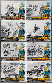 """Chrome and Hot Leather (American International, 1971). Lobby Card Set of 8 (11"""" X 14""""). Exploitation. ... (Tot..."""