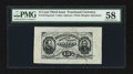 Fractional Currency:Third Issue, Fr. 1272SP 15¢ Third Issue Wide Margin Face PMG Choice About Unc 58.. ...