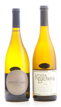 Domestic Chardonnay, Evening Land Chardonnay . 2009 La Source, Seven SpringsVineyard Bottle (1). Kosta Browne Chardonnay . 2010 ... (Total:2 Btls. )