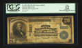 National Bank Notes:Tennessee, Dickson, TN - $20 1902 Plain Back Fr. 650 The First NB Ch. #(S)6930. ...