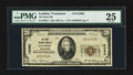 National Bank Notes:Tennessee, Loudon, TN - $20 1929 Ty. 1 The First NB Ch. # 12080. ...