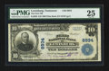 National Bank Notes:Tennessee, Lewisburg, TN - $10 1902 Plain Back Fr. 626 The First NB Ch. #8934. ...