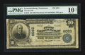 National Bank Notes:Tennessee, Lawrenceburg, TN - $10 1902 Plain Back Fr. 634 The First NB Ch. #6093. ...