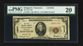 National Bank Notes:Tennessee, Kingsport, TN - $20 1929 Ty. 1 The First NB Ch. # 10842. ...