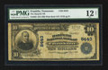 National Bank Notes:Tennessee, Franklin, TN - $10 1902 Plain Back Fr. 626 The Harpeth NB Ch. #8443. ...
