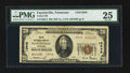 National Bank Notes:Tennessee, Fayetteville, TN - $20 1929 Ty. 2 Union NB Ch. # 13948. ...