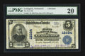 National Bank Notes:Tennessee, Lexington, TN - $5 1902 Plain Back Fr. 609 The First NB Ch. #12324. ...