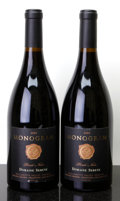 Domestic Pinot Noir, Domaine Serene Pinot Noir 2003 . Monogram. 2lscl. Bottle(2). ... (Total: 2 Btls. )