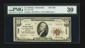 National Bank Notes:Tennessee, La Follette, TN - $10 1929 Ty. 2 The First NB Ch. # 7225. ...