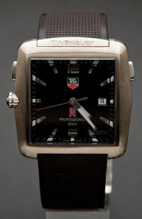 Tag Heuer Professional Golf By Tiger Woods Wristwatch