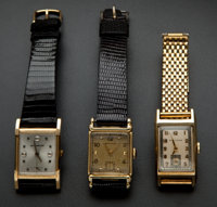 Three Vintage Gent's Manual Wind Wristwatches