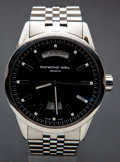 Timepieces:Wristwatch, Raymond Weil Swiss Automatic Steel Wristwatch. ...
