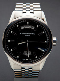 Raymond Weil Swiss Automatic Steel Wristwatch