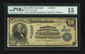 National Bank Notes:Tennessee, Knoxville, TN - $20 1902 Plain Back Fr. 655 The American NB Ch. #(S)10327. ...
