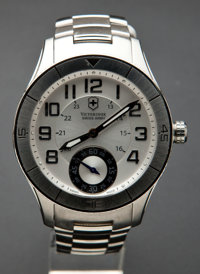 "Victorinox Swiss Army Men ""Ambassador"" Manual Wind Wristwatch"