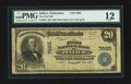 National Bank Notes:Tennessee, Jellico, TN - $20 1902 Plain Back Fr. 650 The First NB Ch. # 7665....