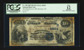 National Bank Notes:Tennessee, Harriman, TN - $10 1882 Date Back Fr. 540 The Manufacturers NB Ch.# (S)4654. ...