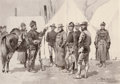 Photographs, FREDERIC SACKRIDER REMINGTON (American, 1861-1909). At the Mouth of Rapid Creek-General Carr Receiving the Report of a Sco...