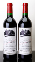 Red Bordeaux, Chateau l'Evangile 1994 . Pomerol. 1nl, 1lwasl. Bottle (2).... (Total: 2 Btls. )