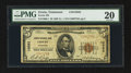 National Bank Notes:Tennessee, Erwin, TN - $5 1929 Ty. 1 Erwin NB Ch. # 10583. ...