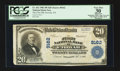 National Bank Notes:Tennessee, Etowah, TN - $20 1902 Plain Back Fr. 652 The First NB Ch. # 9162....