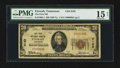 National Bank Notes:Tennessee, Etowah, TN - $20 1929 Ty. 1 The First NB Ch. # 9162. ...