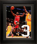 Basketball Collectibles:Others, Chris Paul Signed Jersey Number Display. ...