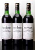 Red Bordeaux, Chateau Lafon Rochet 1970 . St. Estephe. 2vhs, 1ts, 3bsl,2lcc. Bottle (3). ... (Total: 3 Btls. )