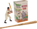 Baseball Collectibles:Bats, Mickey Mantle 25th Anniversary Statue and Hillerich & Bradsby Mini Bat....