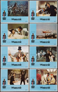 """Movie Posters:James Bond, Live and Let Die (United Artists, 1973). Lobby Card Set of 8 (11"""" X 14""""). James Bond.. ... (Total: 8 Items)"""