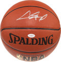 Basketball Collectibles:Balls, Chris Paul Signed Basketball....