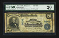 National Bank Notes:Tennessee, Crossville, TN - $20 1902 Plain Back Fr. 653 The First NB Ch. #9809. ...