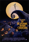 """Movie Posters:Animation, The Nightmare Before Christmas (Touchstone, 1993). One Sheet (27"""" X40"""") DS. Animation.. ..."""