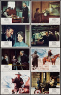 """Movie Posters:Western, The Shootist (Paramount, 1976). Lobby Card Set of 8 (11"""" X 14""""). Western.. ... (Total: 8 Items)"""