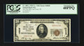 National Bank Notes:Tennessee, Coal Creek, TN - $20 1929 Ty. 1 The First NB Ch. # 10028. ...