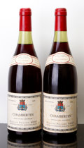 Red Burgundy, Chambertin 1978 . P. Remy . 1lbsl, 1bsl. Bottle (2). ...(Total: 2 Btls. )