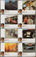 "Movie Posters:Sports, Le Mans (National General, 1971). Lobby Card Set of 8 (11"" X 14""). Sports.. ... (Total: 8 Items)"