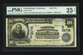 National Bank Notes:Tennessee, Chattanooga, TN - $10 1902 Date Back Fr. 618 Citizens NB Ch. #(S)9176. ...