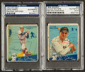 Autographs:Sports Cards, Signed 1934 Goudey Baseball Card PSA/DNA Authentic Pair (2). ...