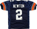 Football Collectibles:Uniforms, Cam Newton Signed Auburn Tigers Jersey. ...