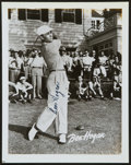 Golf Collectibles:Autographs, Ben Hogan Signed Photograph....