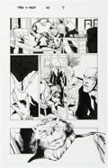 Original Comic Art:Panel Pages, Phil Jimenez and Andy Lanning New X-Men #141 Page 7 Original Art (Marvel, 2003)....