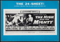 """Movie Posters:Adventure, The High and the Mighty & Others Lot (Warner Brothers, 1954).Uncut Pressbooks (4) & Pressbooks (7) (Multiple Pages, 11"""" X1... (Total: 19 Items)"""