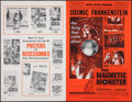 """Movie Posters:Science Fiction, The Magnetic Monster (United Artists, 1953). Uncut Pressbook (12 Pages, 11"""" X 17""""). Science Fiction.. ..."""