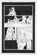 Original Comic Art:Panel Pages, Jamal Igle and Jon Sibal Supergirl #43 Page 19 Original Art (DC, 2009)....