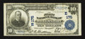 National Bank Notes:Pennsylvania, Williamsport, PA - $10 1902 Plain Back Fr. 624 The First NB Ch. #(E)175. ...