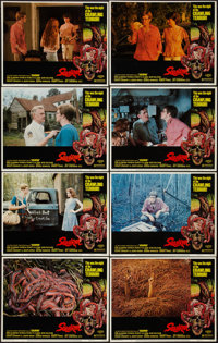 """Squirm (American International, 1976). Lobby Card Set of 8 (11"""" X 14""""). Horror. ... (Total: 8 Items)"""