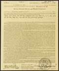 Autographs:Letters, 1963 Ted Williams Signed Full Name Life Insurance Policy (TheodoreS. Williams)....